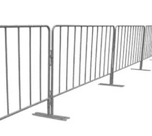crowd control barriers rental